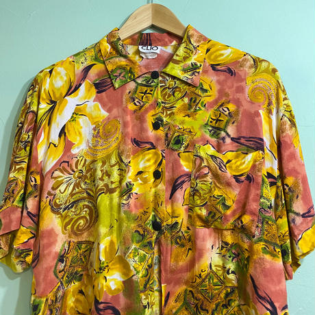 80s' Front tie shirt