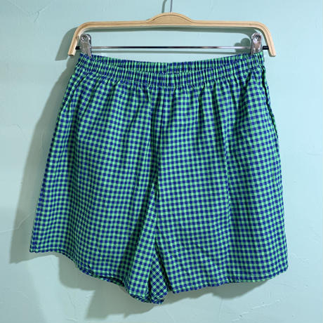 Check short pant