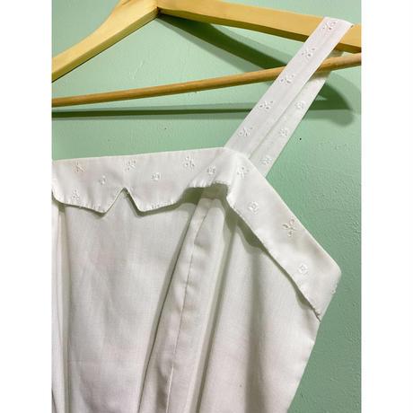 80s' cotton one-piece