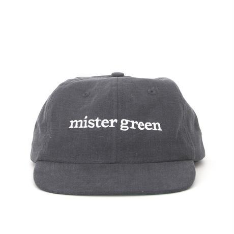 Mister Green / Wordmark Cap / Black