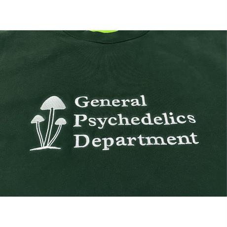 Mister Green / General Psychedelics V2 Crewneck - Forest