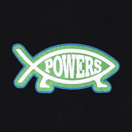 POWERS / EVOLUTION SS TEE / BLACK