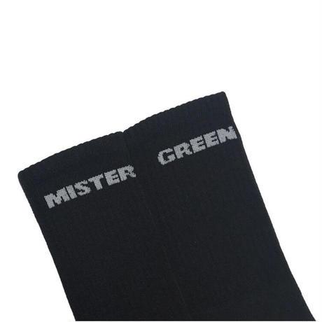 Mister Green / Athletic Socks - Black