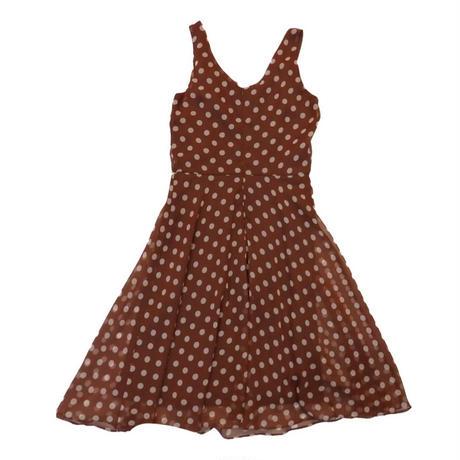 Dot  A-line dress