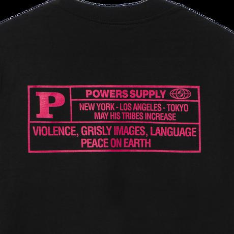 POWERS / WHAITE HOUSE LS TEE - BLACK