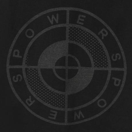 POWERS / POWERS LOGO SS TEE - BLACK
