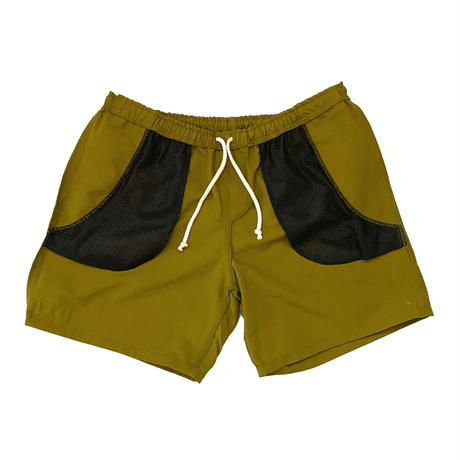 Mister Green / Land Shorts / Yellow Olive