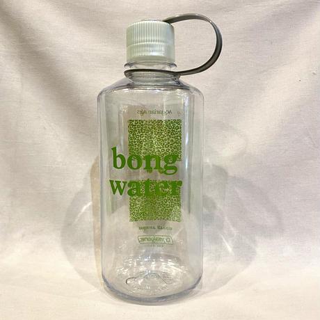 Mister Green / Bong Water Nalgene / Narrow Mouth Hardshell / Clear