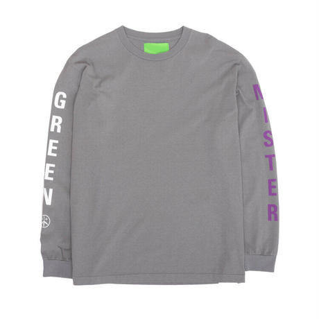 Mister Green / Swiss Wordmark LS / Washed Grey