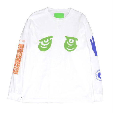 Mister Green / Aquarian Collage LS / White