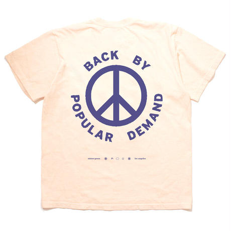 Mister Green / By Popular Demand Tee - Natural