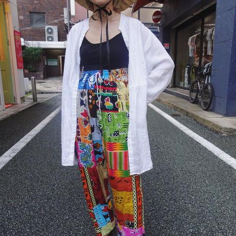Linen long shirt