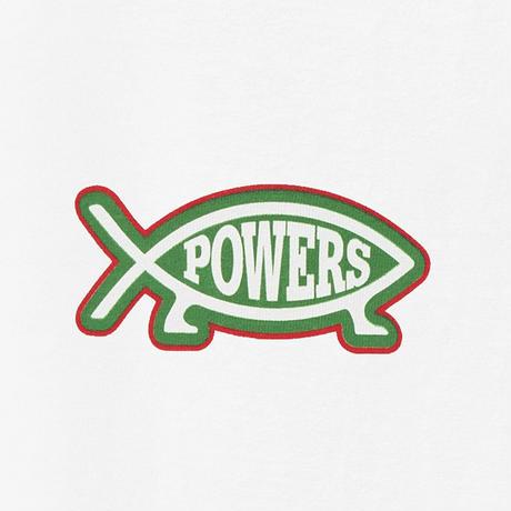 POWERS / EVOLUTION SS TEE  / WHITE