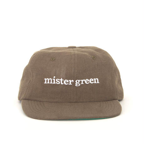 Mister Green / Wordmark Cap / Charcoal