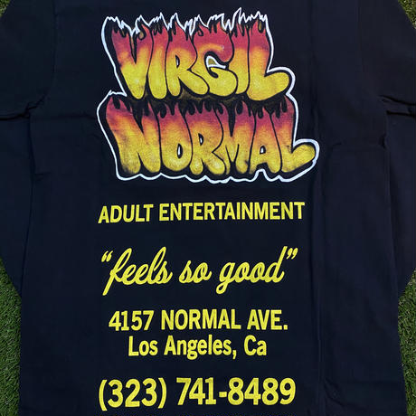 Virgil Normal / FLAMING SHOP BOY L/S Tee