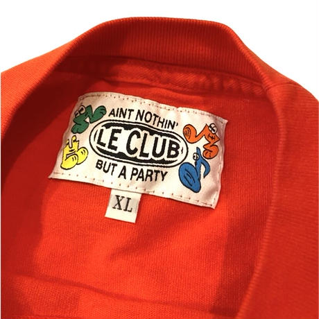 Le-Club / Homebase L/s T-shirt / Red