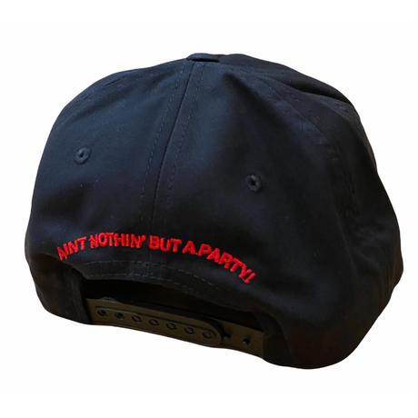 Le-Club / Global snapback hat / Black