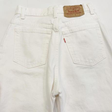 90s' Levi's 512 white jeans