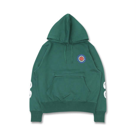 Boogie-Woogie Works × And You / Friend Bar Hoodie / Land Green