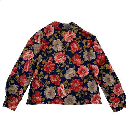 Vintage flower pattern shirt