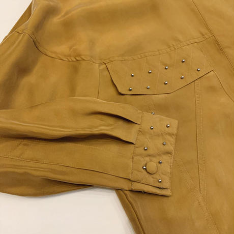 Studs silk shirt