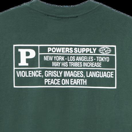 POWERS / WHAITE HOUSE LS TEE - GREEN