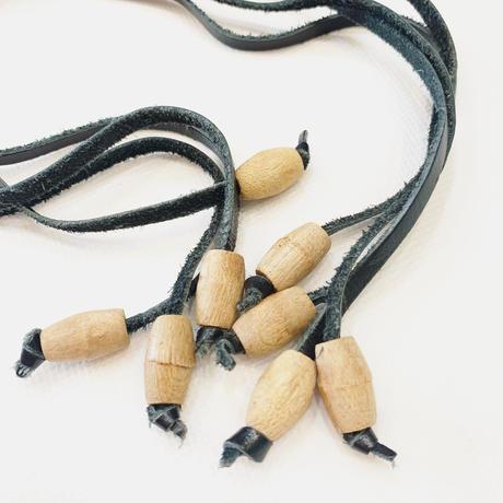 Wood rope belt