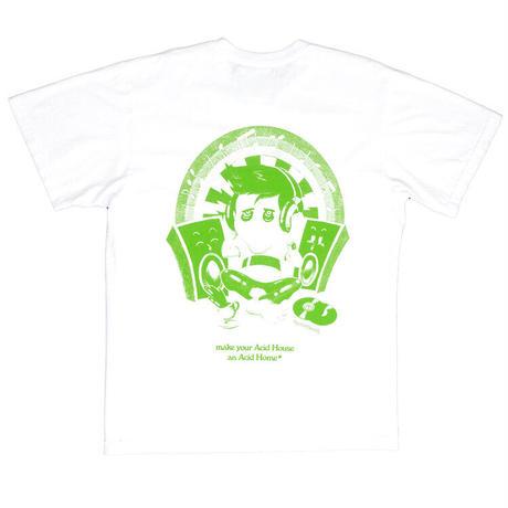 Mister Green / Acid Home Tee / White