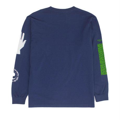 Mister Green / Aquarian Collage LS / Warm Blue