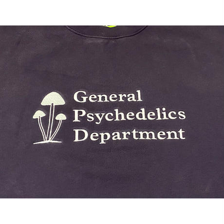 Mister Green / General Psychedelics V2 Crewneck - Midnight Purple