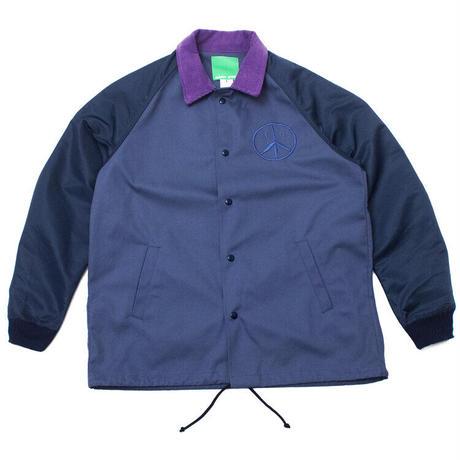 Mister Green / HYBRID JACKET - Navy/Purple