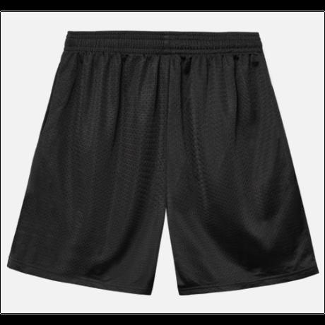 POWERS / Diamond Script Mesh Shorts / Black
