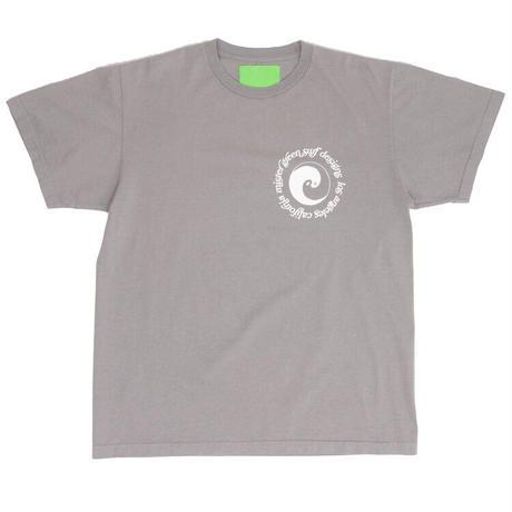 Mister Green / Dualism Surf Tee V2 / Washed Grey