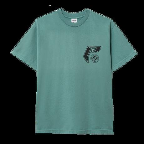 POWERS / Sphinx SS Tee - Dusty Emerald