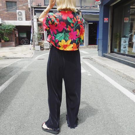 Flower short tops
