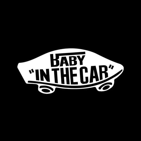 BABY IN THE CAR( VANS風ステッカー)