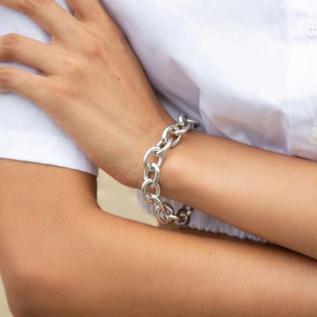 Silver chunky bracelet/シルバー チャンキーブレスレット