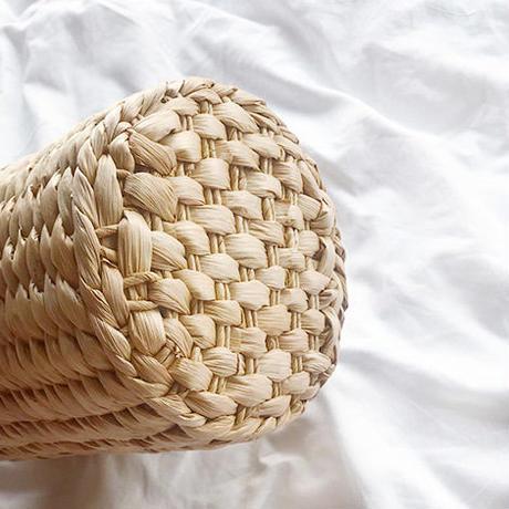 2 pattern scarf basket bag/2パターン スカーフ バスケット バッグ