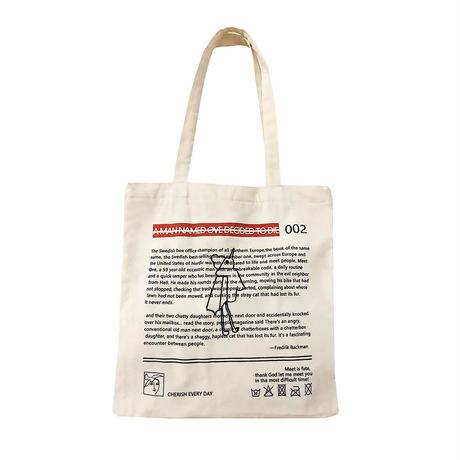 Logo print campus bag/ロゴプリント キャンバスバッグ