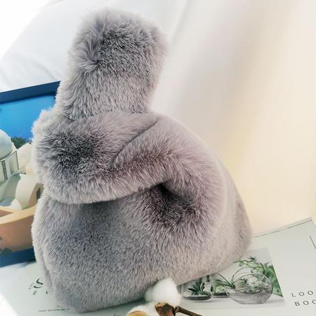 Eco fur bag/エコファーバッグ(6color)