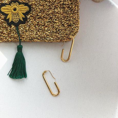 oval earrings/オーバル ピアス