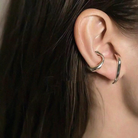 Ring ear cuff/リング イヤーカフ(2color)