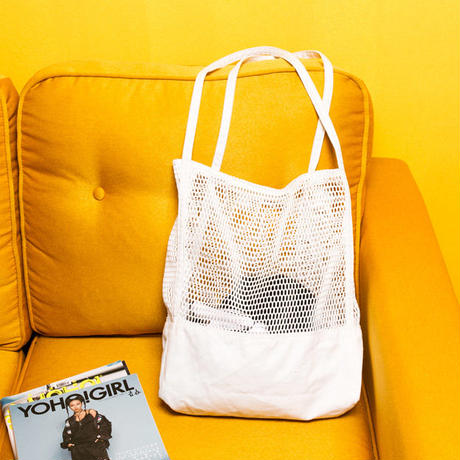 2color mesh tote bag/2カラー メッシュ トートバッグ
