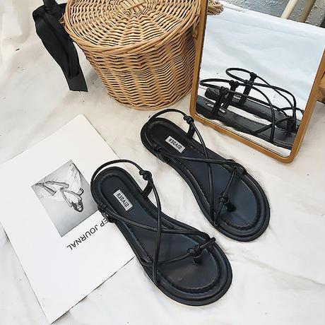 Lace sandals/レース サンダル