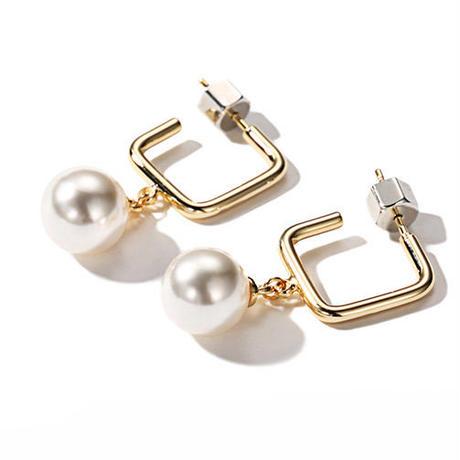 pearl earrings/パール ピアス