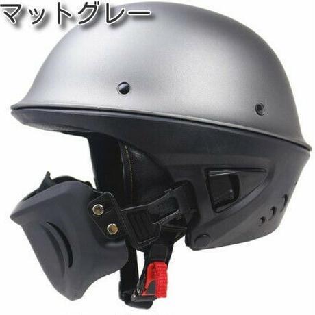 オープンフェイス ヘルメット 安全性 DOT規格 ハーレースタイル マスク付き
