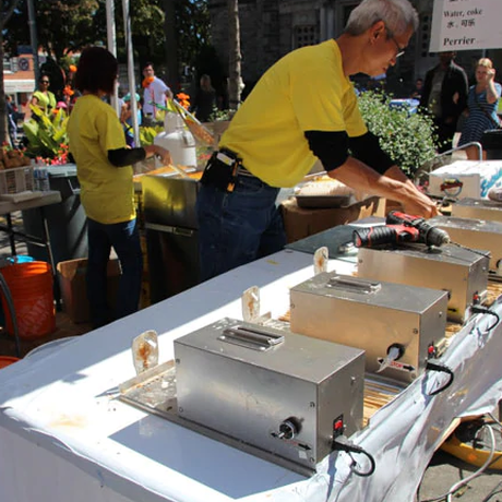 ポテトカッター 業務用 電動でジャガイモのカットが楽々できる 多機能3in1