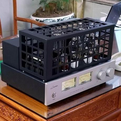 パワーアンプ プリアンプ  ステレオ真空管アンプ PSVANE300B-SE+845 6球 プリパワアンプ プロ仕様 【国内電圧対応】
