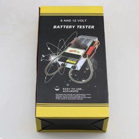 自動車 バッテリーテスター 12V 100A  負荷テスター チェッカー