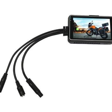 バイク用ドラレコ 前後録画可能 あおり運転対策におすすめ セパレート